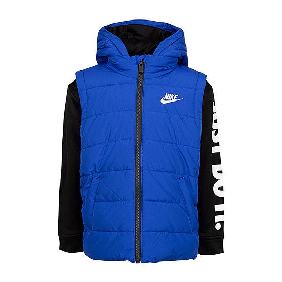 Nike Little Boys Fleece Midweight Jacket