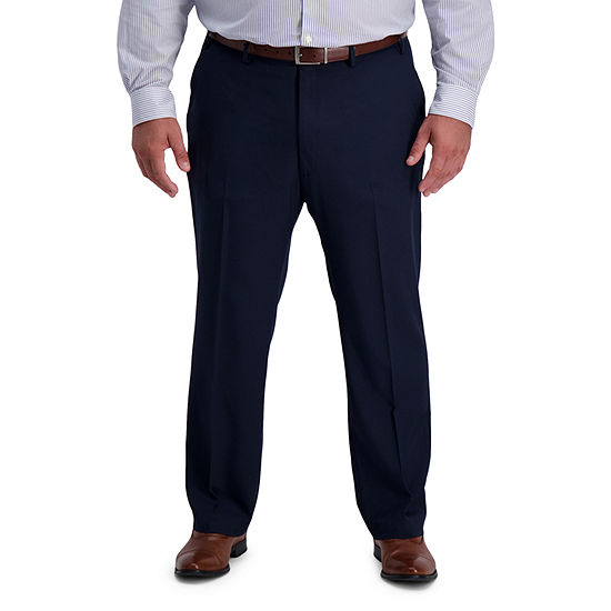 Haggar-Big and Tall Mens Straight Fit