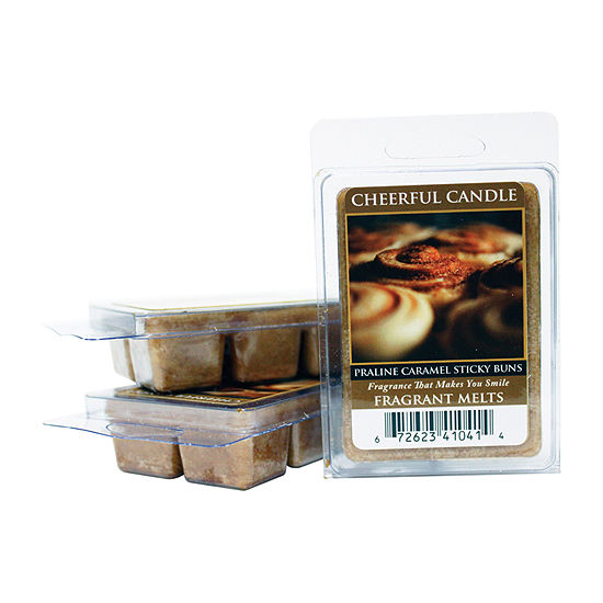 A Cheerful Giver Praline Caramel Sticky Buns Set Of 3 Wax Melts
