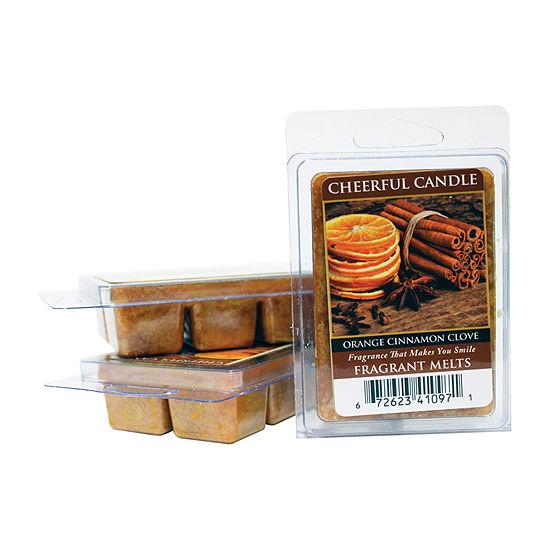 A Cheerful Giver Orange Cinnamon Clove Set Of 3 Wax Melts