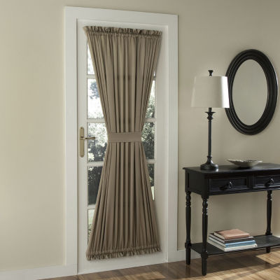 Sun Zero Emory Light-Filtering Rod-Pocket Single Door Panel Curtain