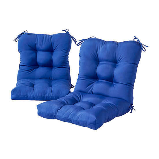 Greendale Home Fashions Outdoor Patio Chair Cushion - Set of 2