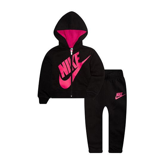 Nike Girls 2-pc. Logo Pant Set Toddler