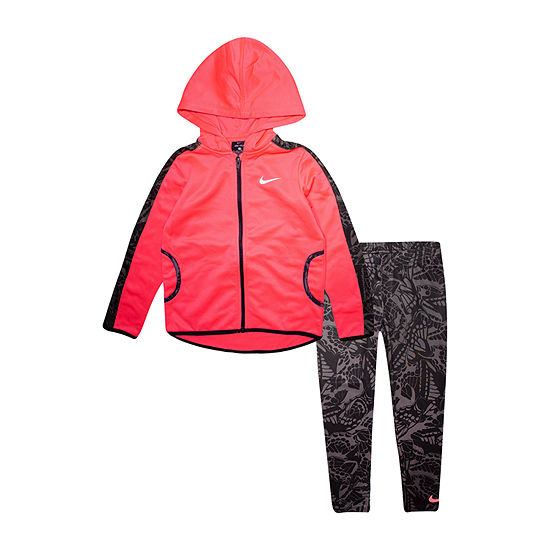 Nike Dri Fit Little Girls 2-pc. Legging Set