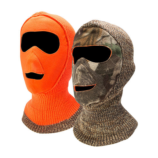 QuietWear® Reversible Camo Hunting Facemask