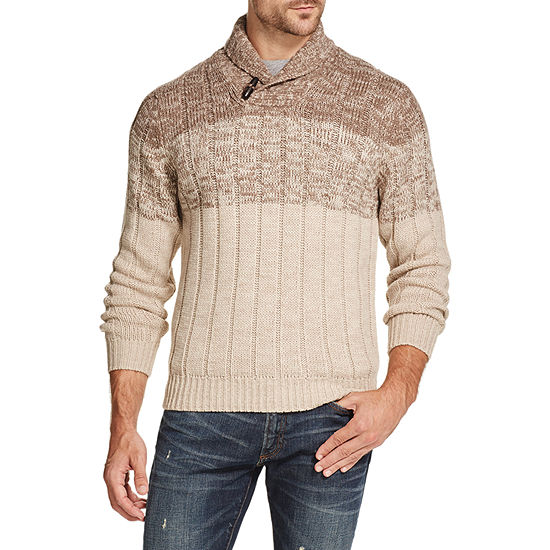 American Threads Long Sleeve Knit Pullover Sweater
