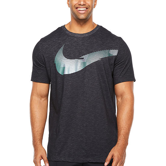 Nike Mens Crew Neck Long Sleeve T-Shirt-Big and Tall