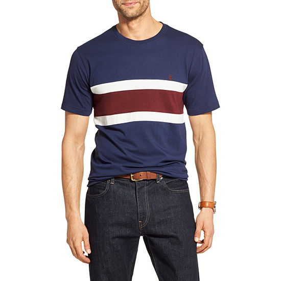 IZOD Big and Tall Colorblock Crewneck T-Shirt