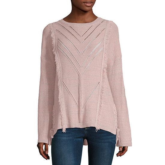 Artesia Womens Crew Neck Long Sleeve Pullover Sweater