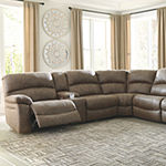 Signature Design By Ashley® Segburg 4-Piece Power Reclining Sectional