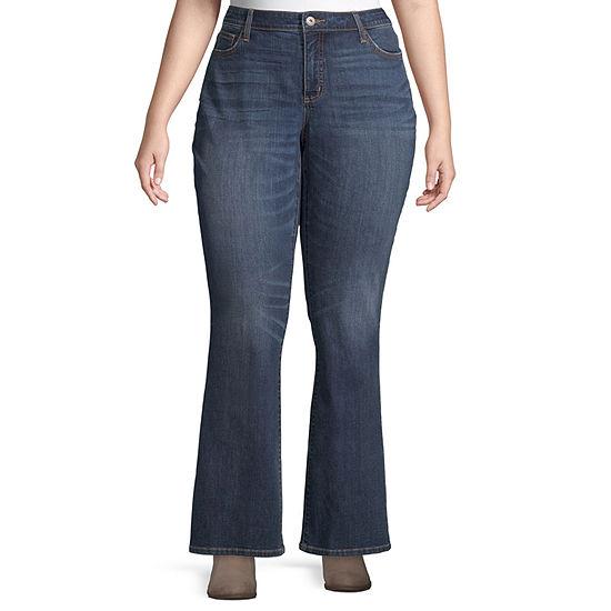 St. John's Bay Womens Regular Fit Bootcut Jean