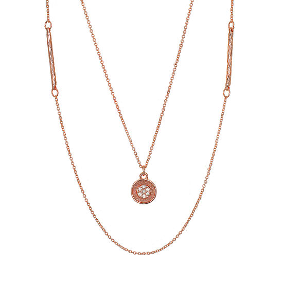 Mixit 30 Inch Link Round Pendant