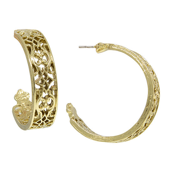 1928 Hoop Earrings