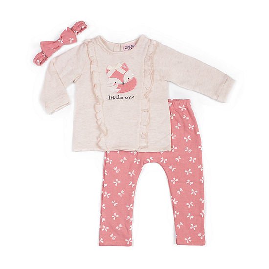 Little Lass Girls 2-pc. Pant Set Baby