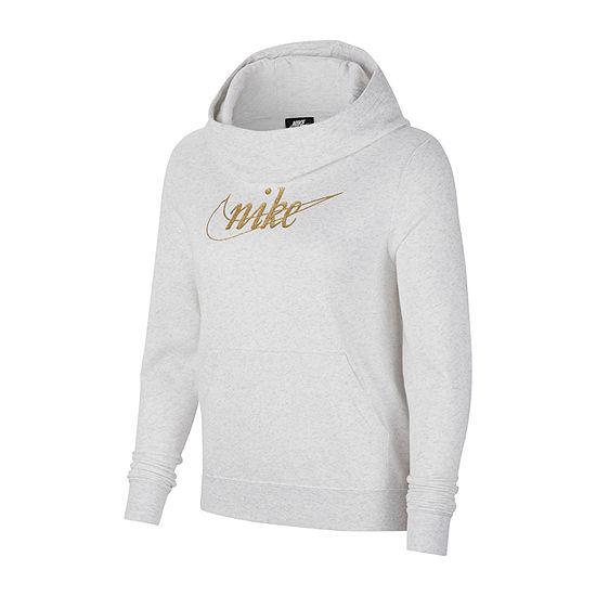 Nike Womens Cowl Neck Long Sleeve Sweatshirt