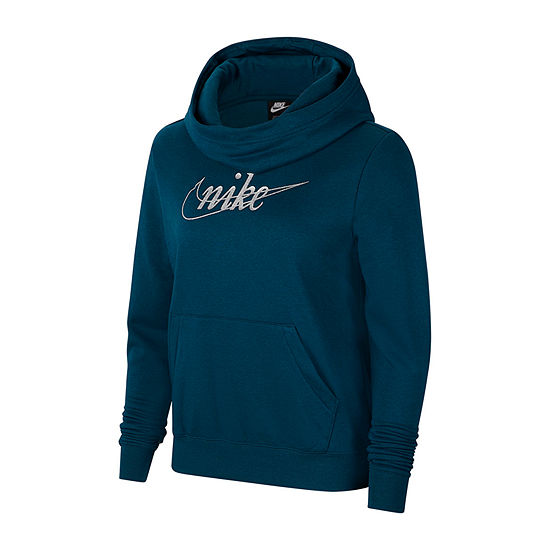 Nike Womens Cowl Neck Long Sleeve Sweatshirt