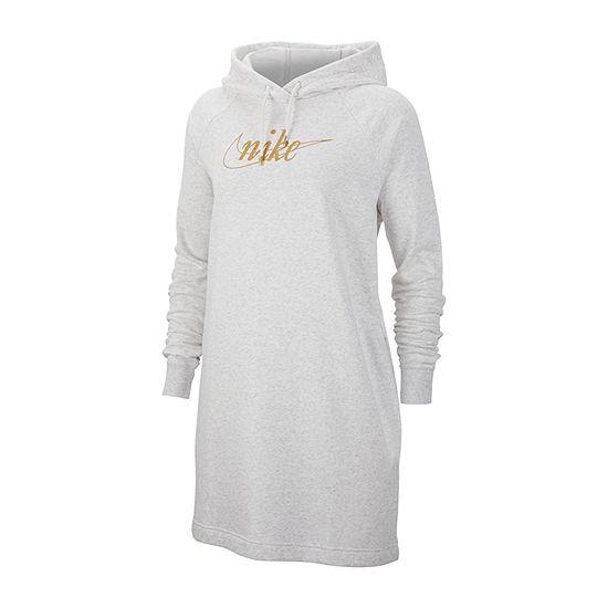 Nike Long Sleeve T-Shirt Dresses
