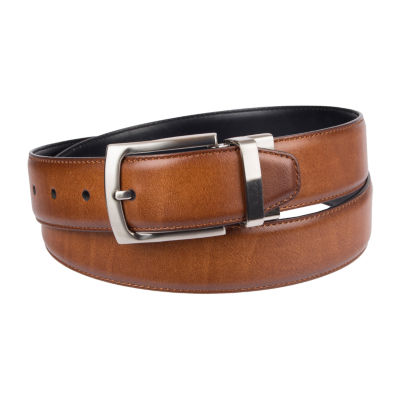 Stafford® Reversible Men's Dress Belt with Metal Loop