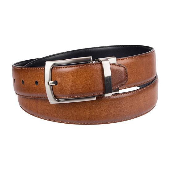 Stafford® Reversible Men's Dress Belt with Metal Loop
