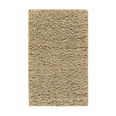 JCPenney Home Renaissance Washable Shag Rectangular Rug, One Size , Beige