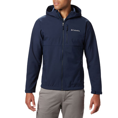 Columbia Ascender Hooded Softshell Jacket, Small , Blue