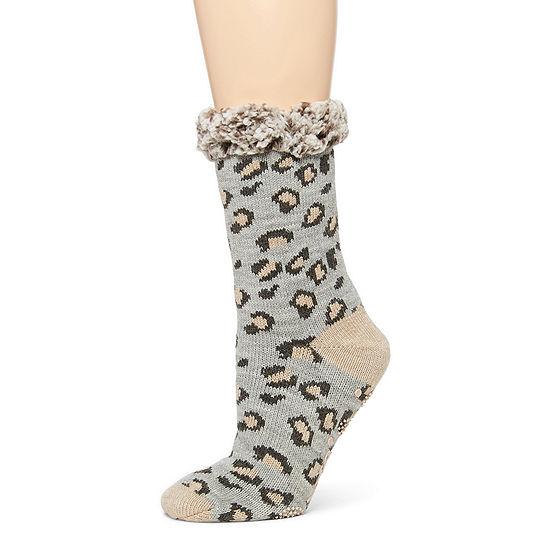Muk Luks Crew Socks Womens