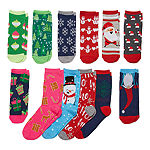 Novelty Season 12 Pair Low Cut Socks Womens