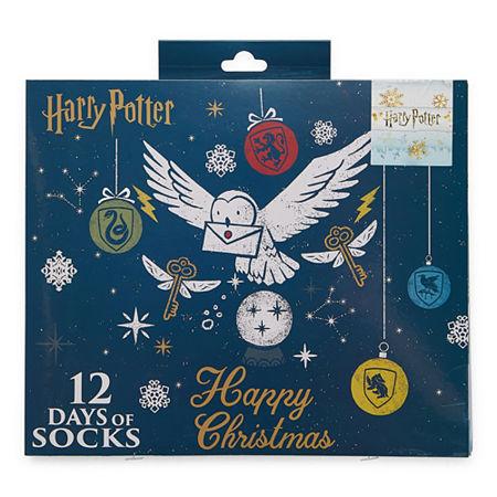 Harry Potter 12 Pair Low Cut Socks Womens. 4-10 . Multiple Colors