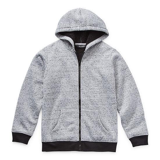 Hollywood Big Boys Knit Hooded Lightweight Jacket