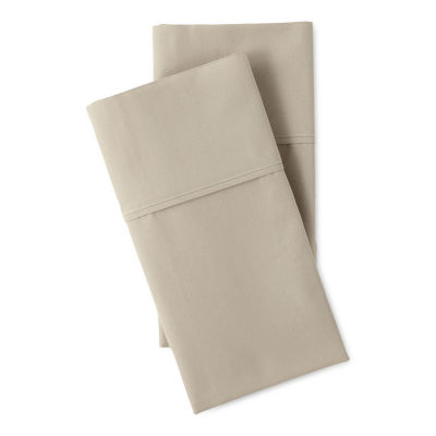 Linden Street Organic Cotton Sateen 2-Pack Pillowcase
