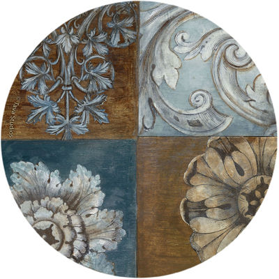 Thirstystone® Floral Sequence Set of 4 Coasters