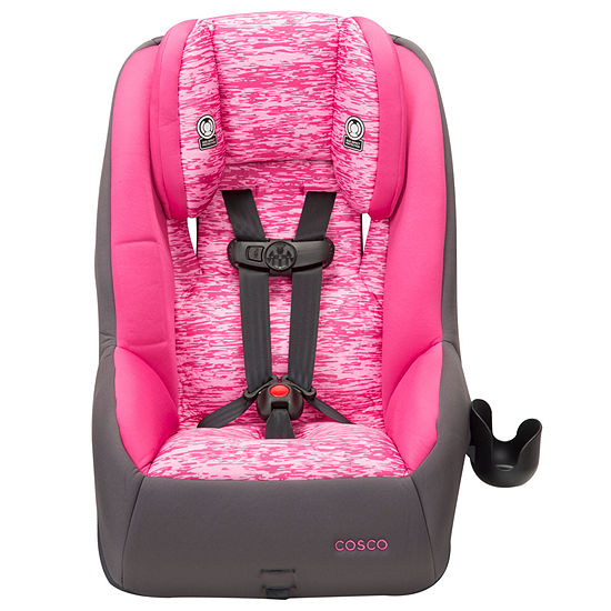 Cosco Mightyfit 65 Deluxe Convertible Car Seat Heather Rose
