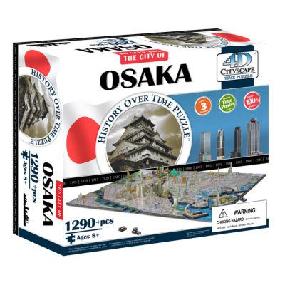 4D Cityscape Time Puzzle - Osaka; Japan