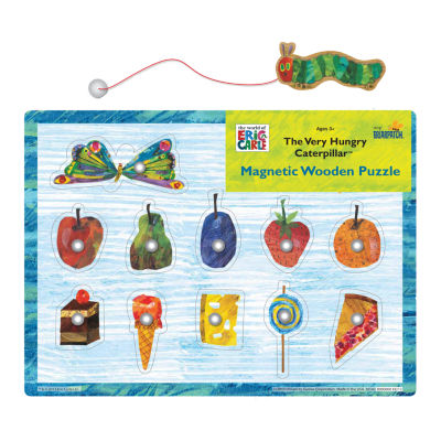 Briarpatch The Very Hungry Caterpillar Magnetic Wooden Puzzle: 11 Pcs