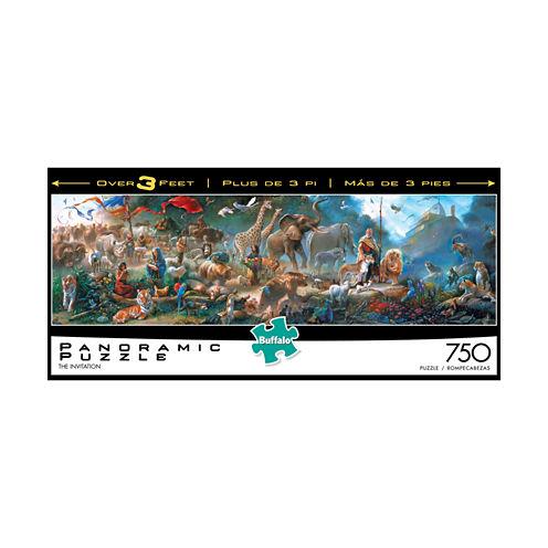 Buffalo Games Tom duBois - The Invitation Panoramic Puzzle: 750 Pcs