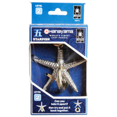 BePuzzled Hanayama Level 2 Cast Puzzle - Starfish