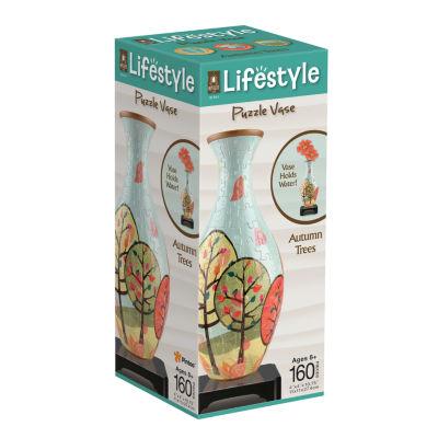 BePuzzled Lifestyle 3D Puzzle Vase - Autumn Trees:160 Pcs