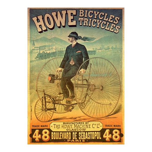 D-Toys Howe Bicycles - Vintage Poster Jigsaw Puzzle: 1000 Pcs