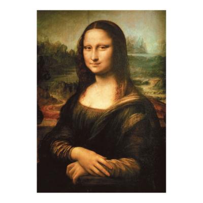 D-Toys Leonardo da Vinci - Mona Lisa Jigsaw Puzzle: 1000 Pcs