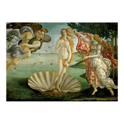 D-Toys Sandro Botticelli - Birth of Venus Jigsaw Puzzle: 1000 Pcs