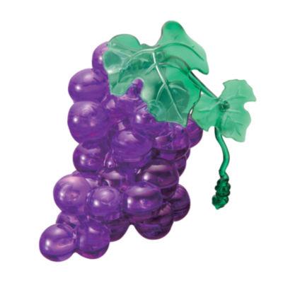 BePuzzled 3D Crystal Puzzle - Grapes (Purple): 39Pcs