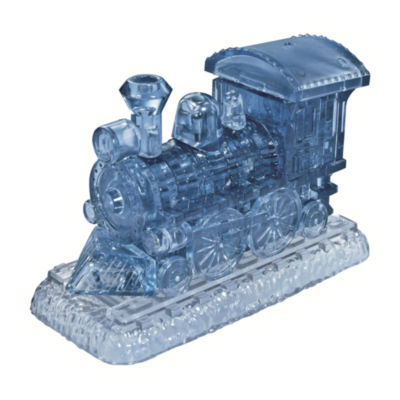 BePuzzled 3D Crystal Puzzle - Locomotive: 38 Pcs