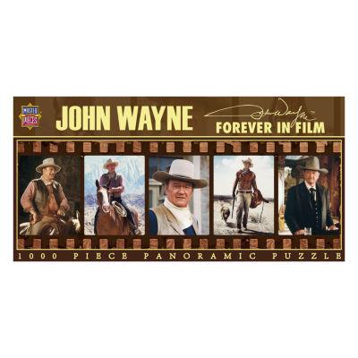 Masterpieces Puzzles John Wayne - Forever in FilmPanoramic Puzzle: 1000 Pcs