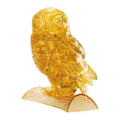BePuzzled 3D Crystal Puzzle - Owl: 42 Pcs
