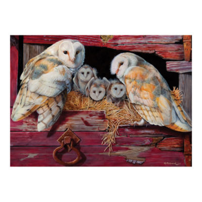 Outset Media Barn Owls Puzzle: 1000 Pcs