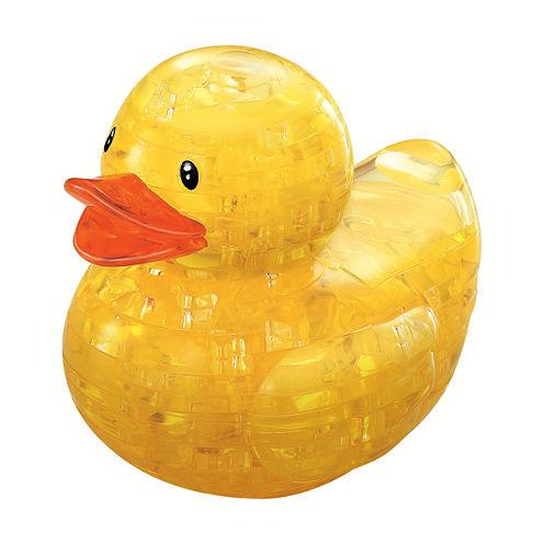 BePuzzled 3D Crystal Puzzle - Rubber Duck: 43 Pcs