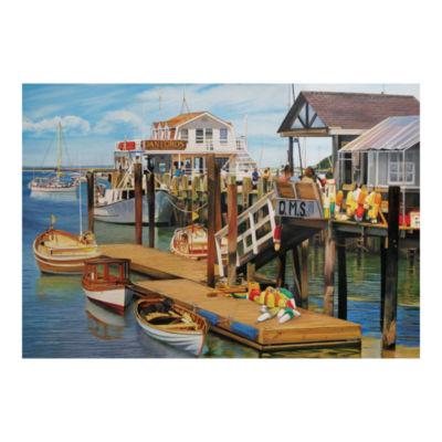 Outset Media Summer Pier Puzzle: 2000 Pcs