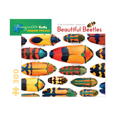 Pomegranate Communications Inc. Christopher Marley- Beautiful Beetles Puzzle: 300 Pcs