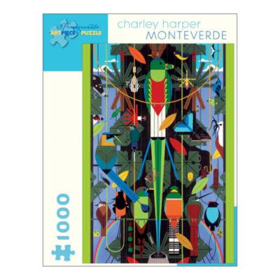 Pomegranate Communications Inc. Charley Harper - Monteverde Puzzle: 1000 Pcs