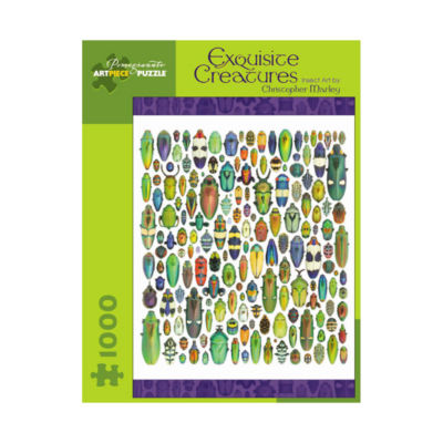 Pomegranate Communications Inc. Christopher Marley- Exquisite Creatures: Insect Art Puzzle: 1000 Pcs